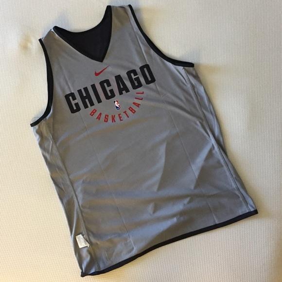 4e6cdad74c6 Nike Shirts | X Nba Chicago Bulls Warm Up Jersey 865741010 | Poshmark